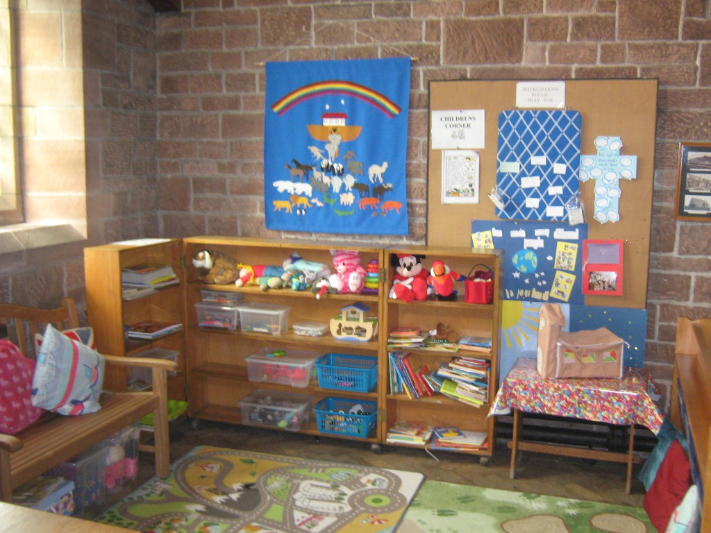 Children's area in Church