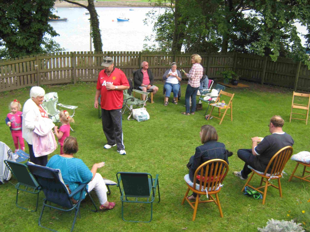 Vicarage barbeque smaller